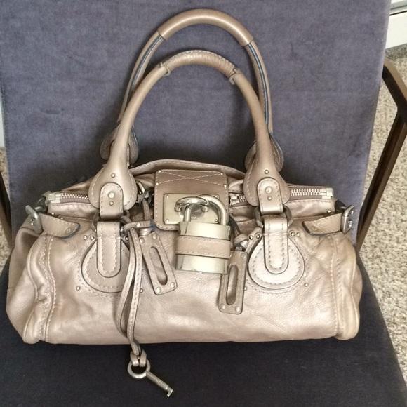 30e1bb3030 Chloe Handbags - 🍃Part 1 Chloe Paddington Pearlescent Taupe